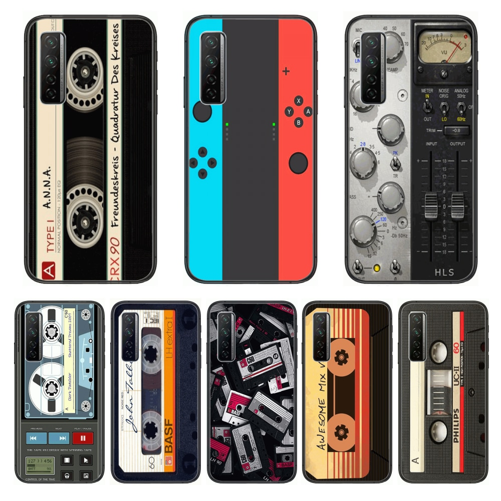 Shockproof Game Personality  Phone Case For Huawei Nova p10 lite 7 6 5 4 3 Pro i p Smart ZBlack Etui 3D Coque Painting Hoesje