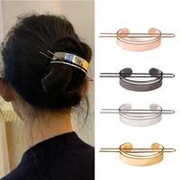 european and american geometry lady metal irregular hairpin hair accessories arrow polygon hairpin headdress lady fixed hairpin