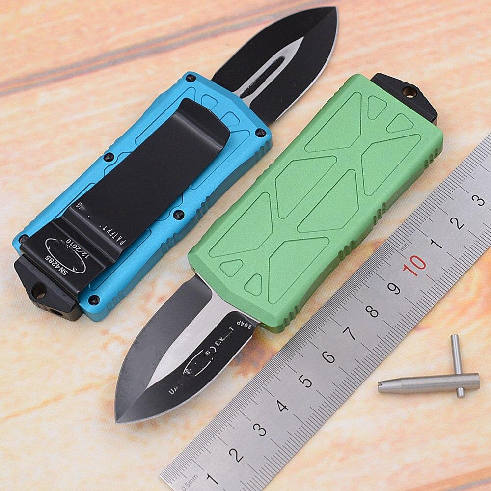JUFULE جديد MT 2019 مقبض ألومنيوم 813 مارك 204p بليد بقاء EDC كامب هانت في الهواء الطلق المطبخ أداة المفاتيح فائدة جيب سكين