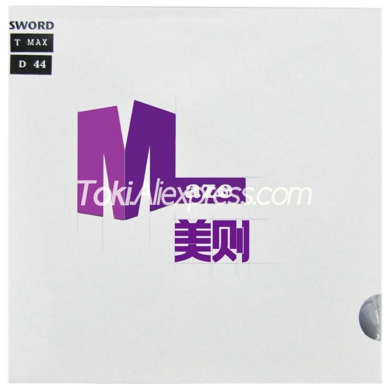 SWORD MAZE Purple (Sticky Offensive) Sword Table Tennis Rubber Sword Ping Pong Sponge