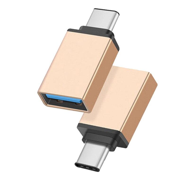 CatXaa-Adaptador de Cable USB 3,0 tipo C OTG, convertidor para Huawei, Xiaomi...