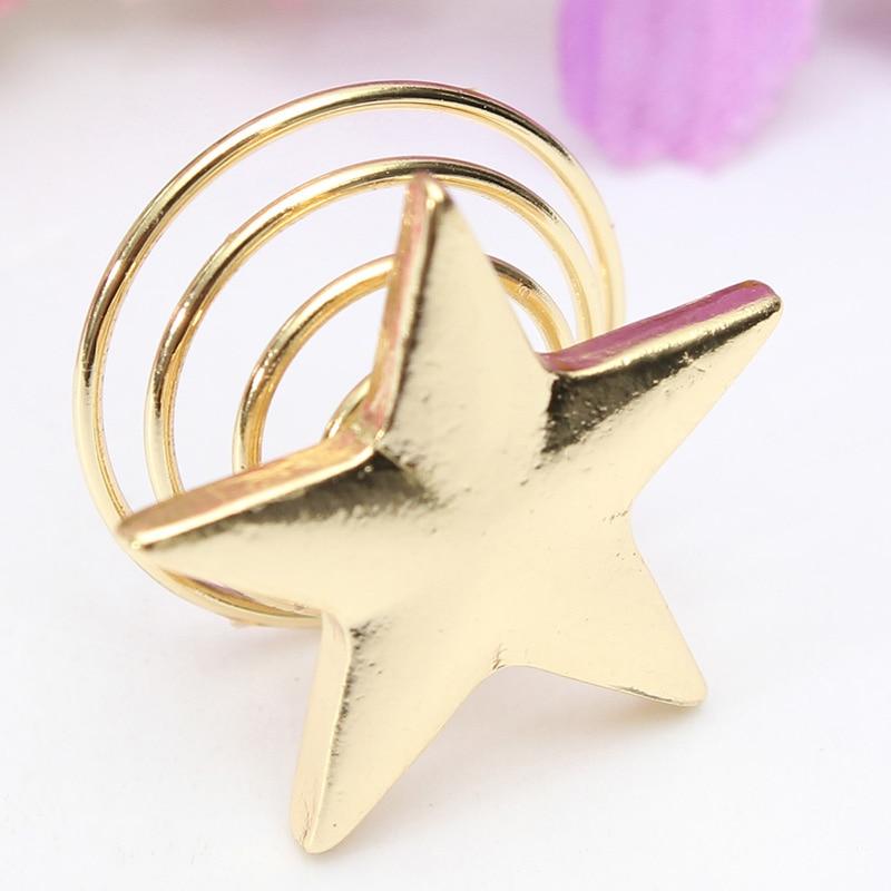 10 pçs instrução ouro cor estrela hairpin feminino menina redemoinho pinos de cabelo primavera grampos de cabelo acessórios de jóias de cabelo presente