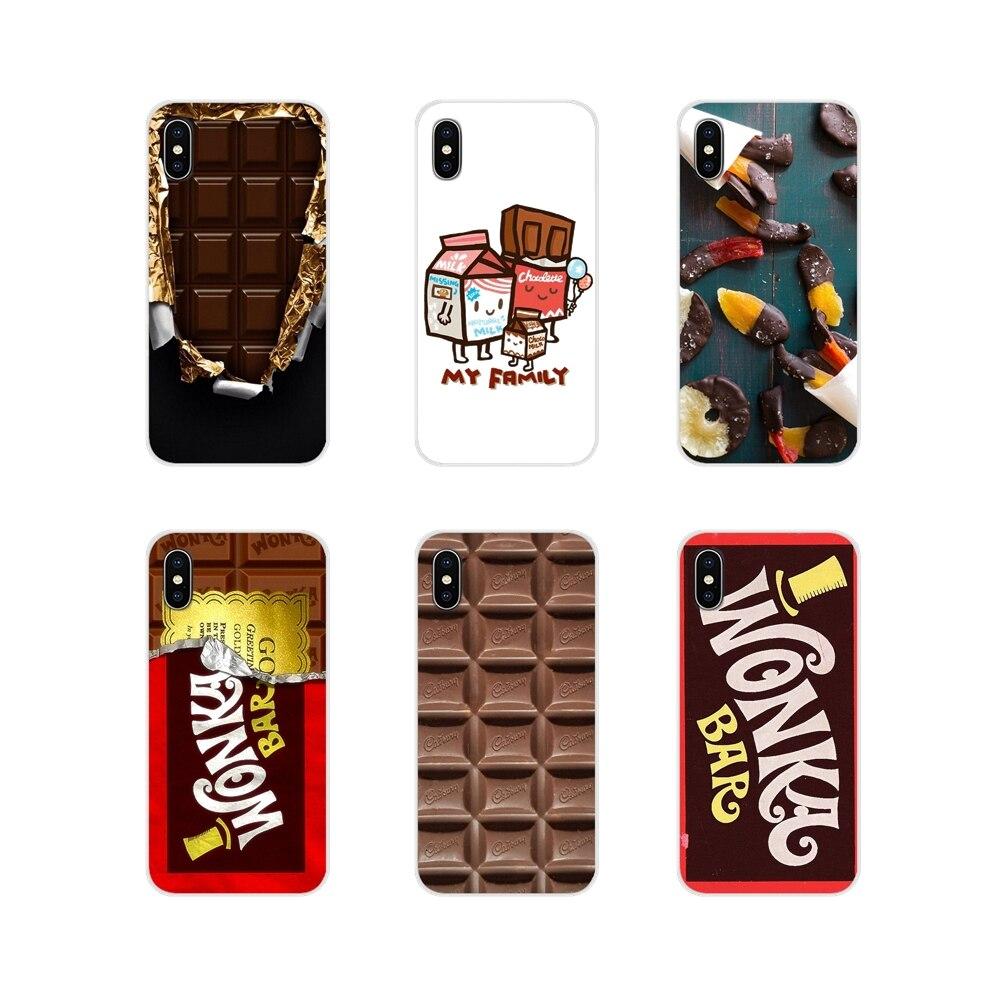 Willy Wonka Bar boleto dorado de Chocolate para LG G3 G4 Mini G5 G6 G7 Q6 Q7 Q8 Q9 V10 V20 V30 X Power 2 3 K10 K4 K8 2017 TPU cubre