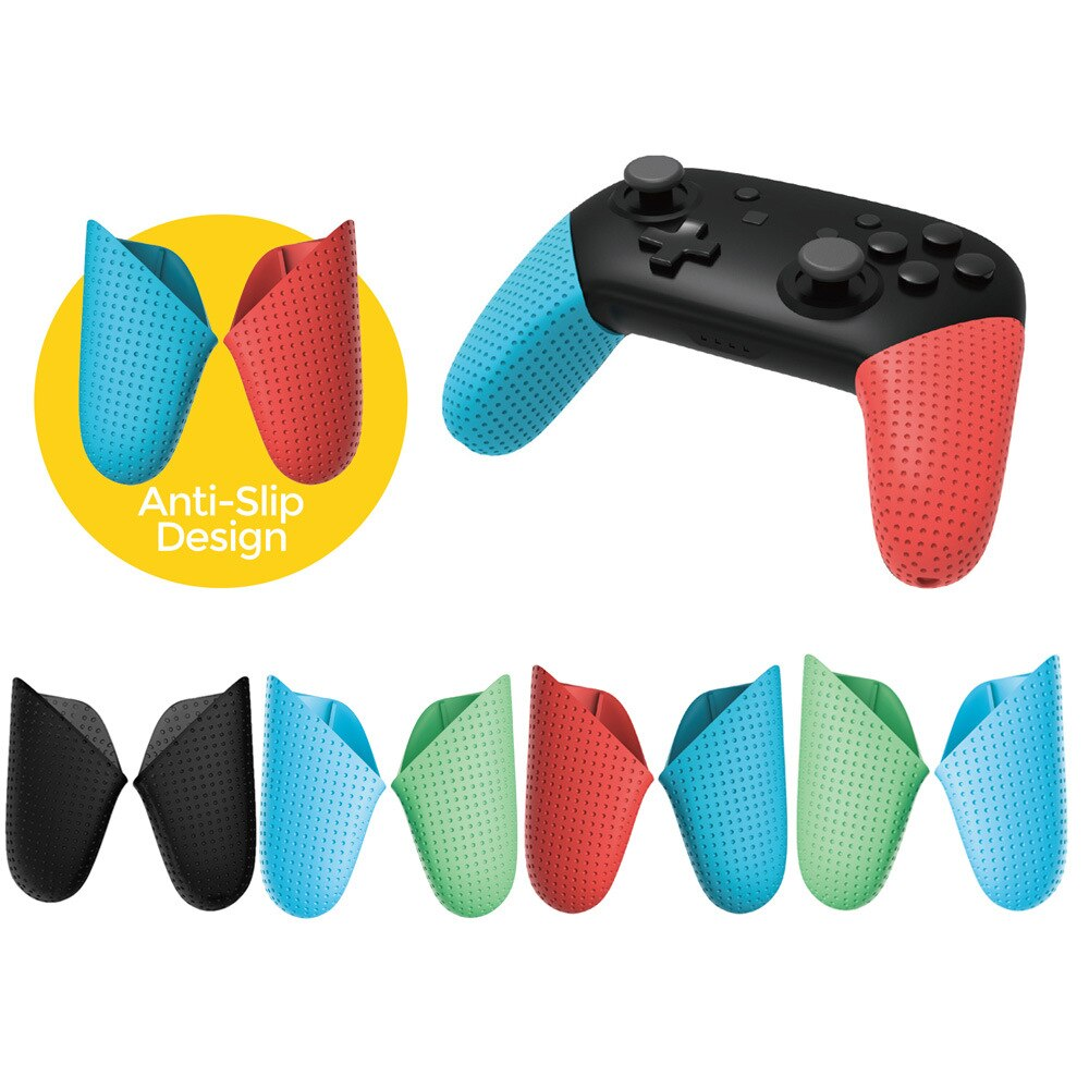 AliExpress - Replacement Anti-Slip Handle Grips for Nintendo Switch Pro Controller,Delicate DIY Hand Grip Shell Cover For Switch Pro Gamepad