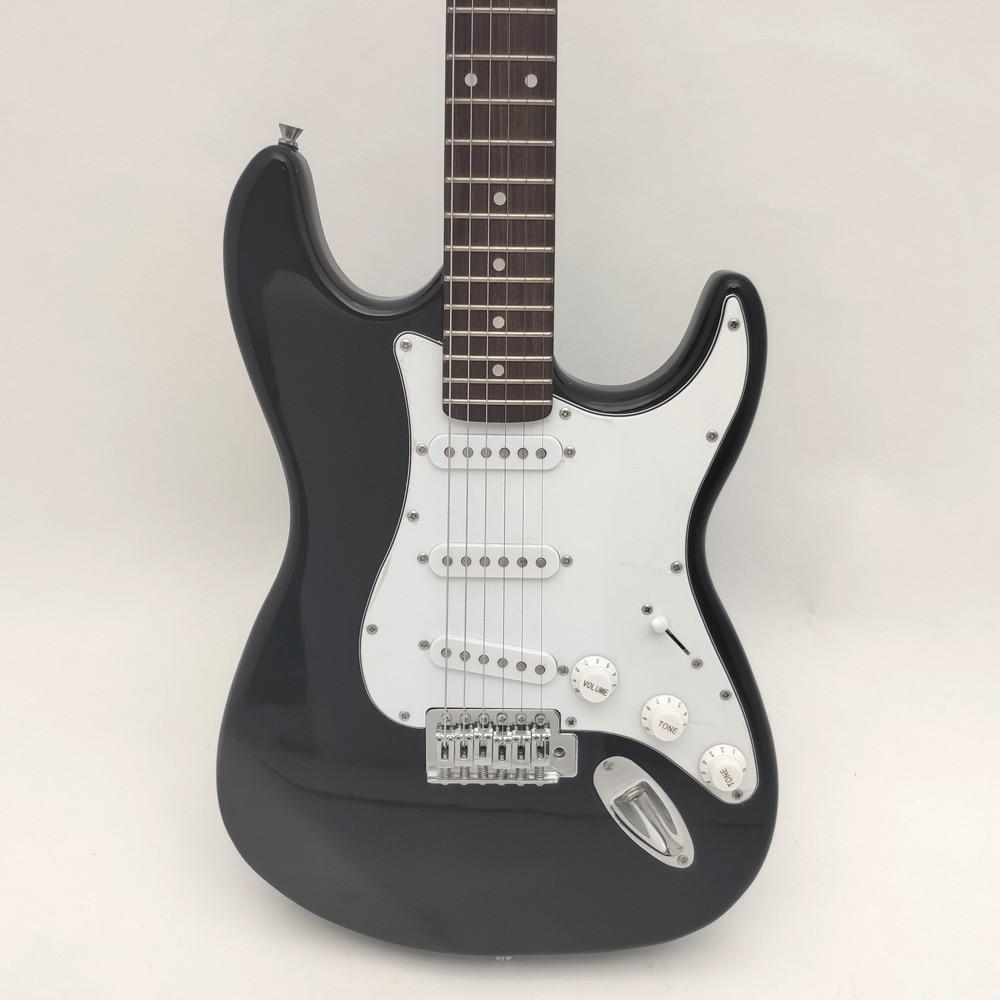 Vintage Electric Guitars High Quality Pickup Acoustic Silent Linden Guitar Travel Guitarra Electrica Musical Instruments DE50JT enlarge
