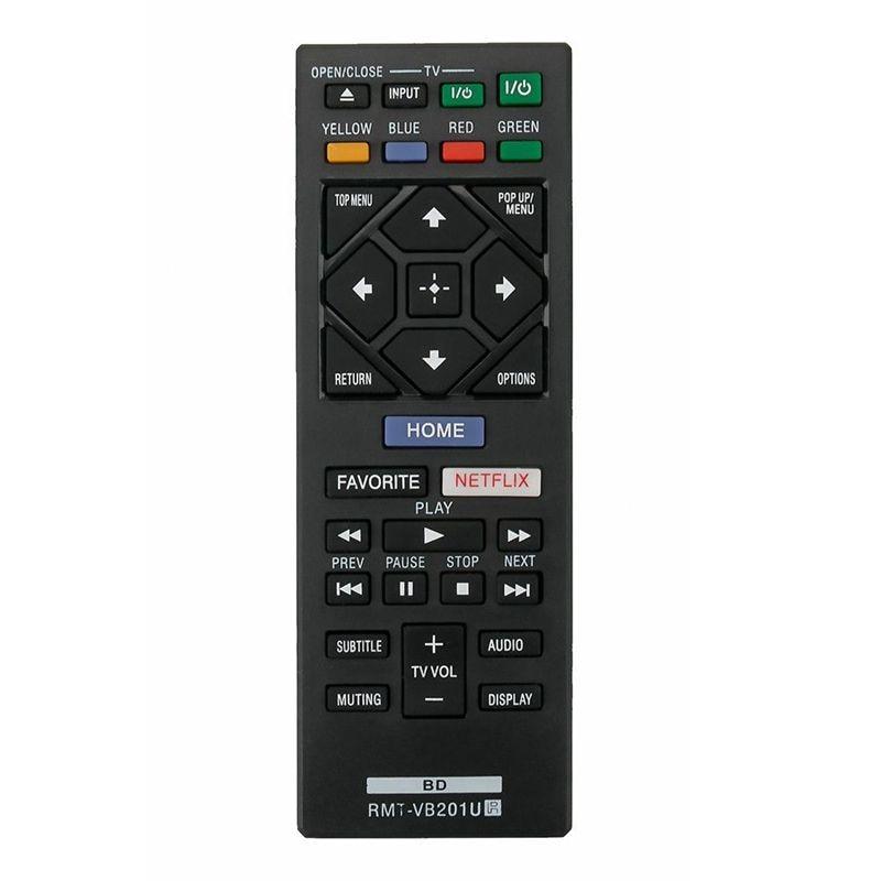 Nuevo RMT-VB201U sustituye remoto para Sony Blu-ray BDP-S3700 BDP-BX370 BDP-S1700