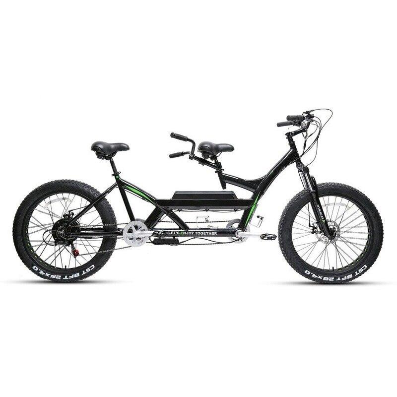 Off-road lightweight 500watt Motor 2 Wheel Electric Fat Tire Mountain Bike Price For Two People