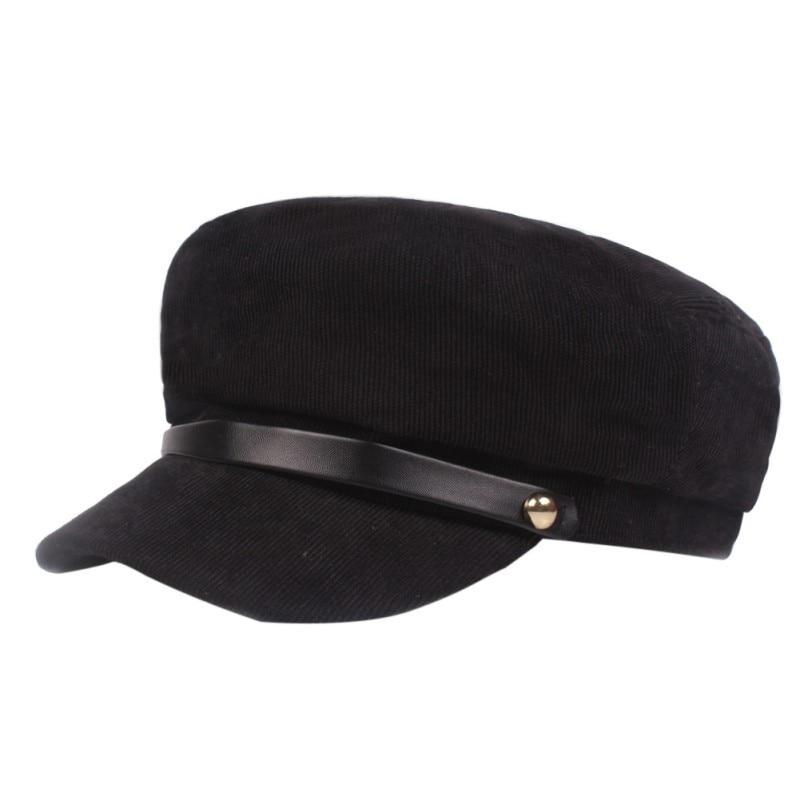 Chapéus de inverno para mulheres boné de inverno feminino botão boné de sol viseira chapéu 5 cores para escolher alta qualidade