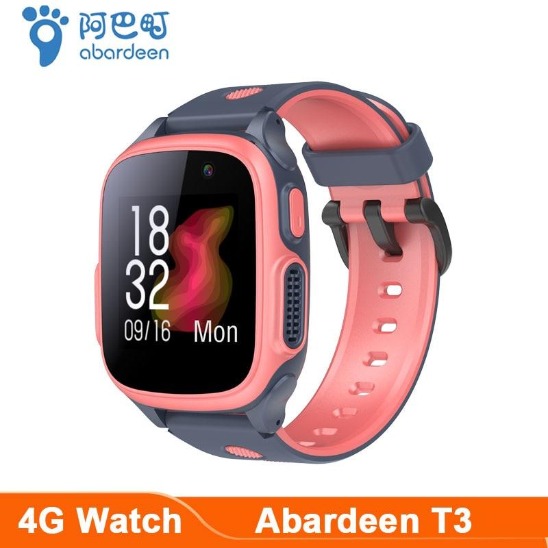 Abardeen T3 GPS Smart Watch Kids Android 8.1 4G video call smartwatch 2M Camera IP67 Waterproof watch connect Wifi Bluetooth