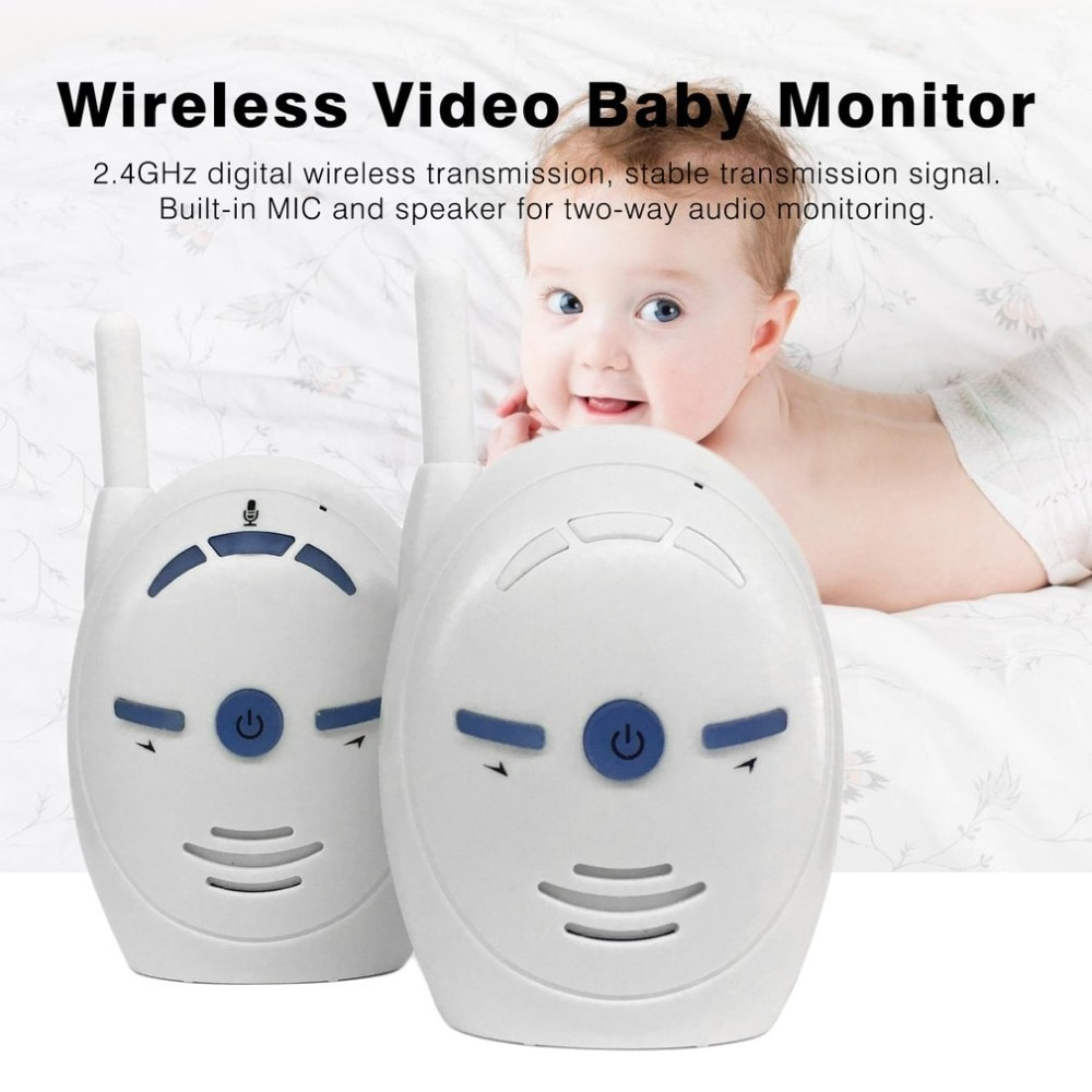 Baby Monitor 2.4GHz Wireless Infant Audio Walkie Talkie Kits Baby Phone Kids Radio Nanny Babysitter babyfoon