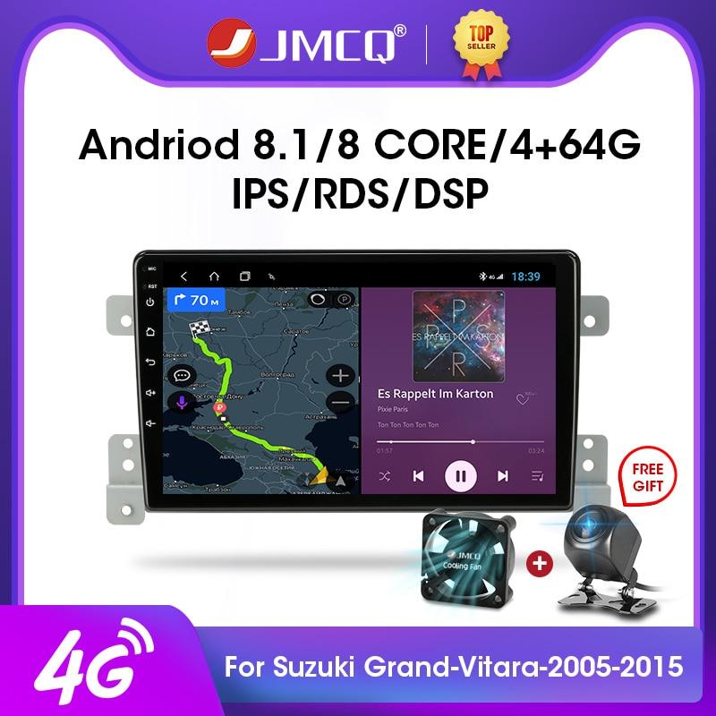 "Jmcq 9 ""アンドロイド 9.0 2 グラム + 32 グラム 4 グラム + 無線lan dsp車ラジオマルチメディアビデオプレーヤースズキエスクード 2005-2015 ナビゲーションgps 2 din"
