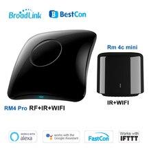 2020 Broadlink RM4 pro/RM4C 미니 스마트 홈 WiFi IR/RF 원격 컨트롤러 자동화 모듈 Alexa amazon Google 홈과 함께 작동