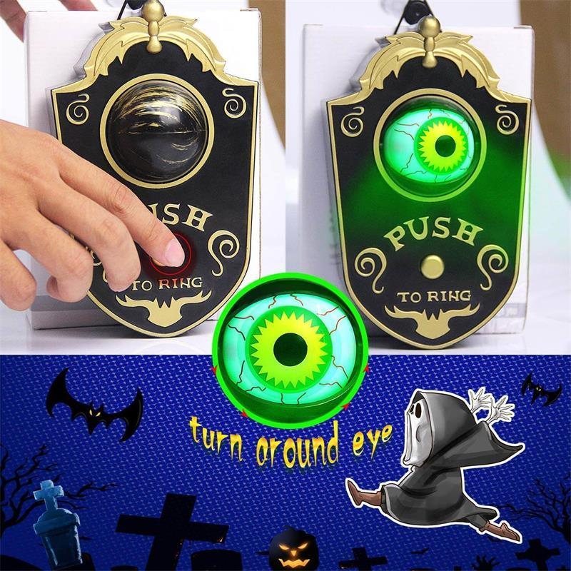 Halloween One-eyed Lightup Eyeball Door Bell Decoration Dropshipping