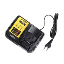 Dcb112 Li-Ion Battery Charger For Dewalt 10.8V 12V 14.4V 18V Dcb101 Dcb200 Dcb140 Dcb105 Dcb200 Eu Plug Black