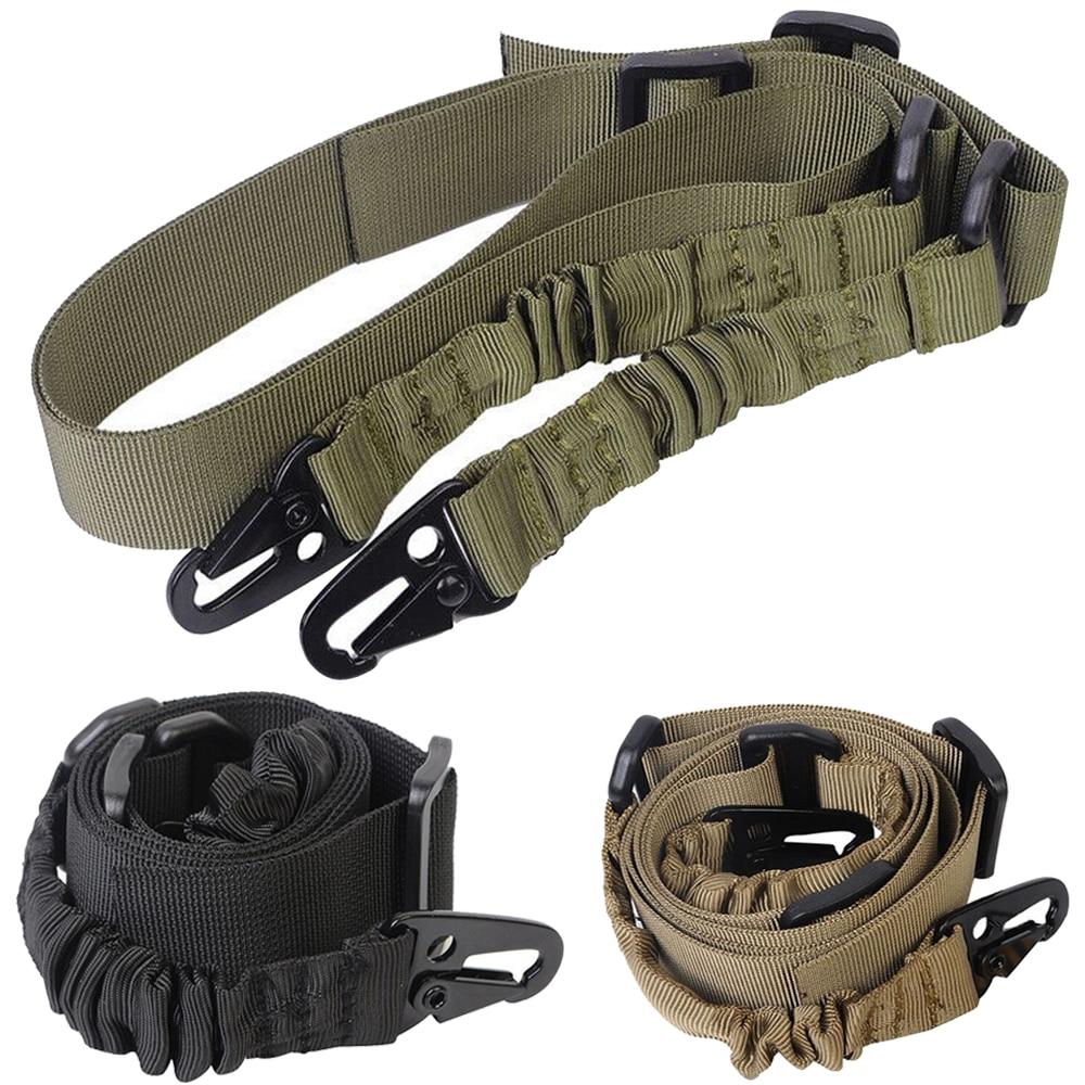Тактический 2-точечный ремешок для ружья, наплечный ремень для ружья, охотничьего ружья с металлической пряжкой QD