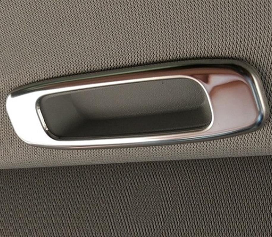 Nueva moldura de cubierta de marco para manillar de ventana de techo Interior de coche para TOYOTA TUNDRA 2008-2020 Landcruiser LC100 Prado