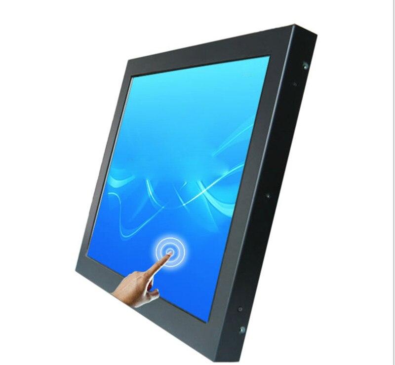 15 pulgadas coche Flip Down TFT LCD Monitor de techo con TV