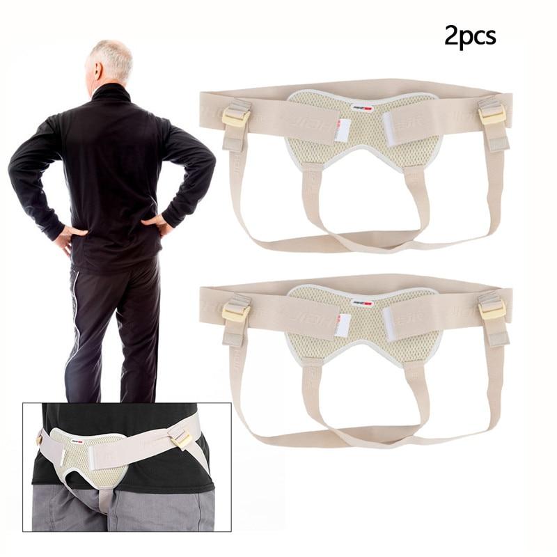 Cinturón para hernia Inguinal para niños adultos médico ajustable 2 uds. Aplicable al tratamiento de Gas Intestinal Inguinal para ancianos