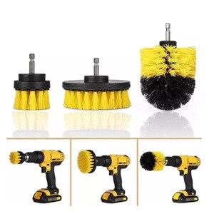 Image 1 - Щетка из полипропилена для чистки туалета, инструмент для чистки коврика, электродрели, 3 шт./компл.