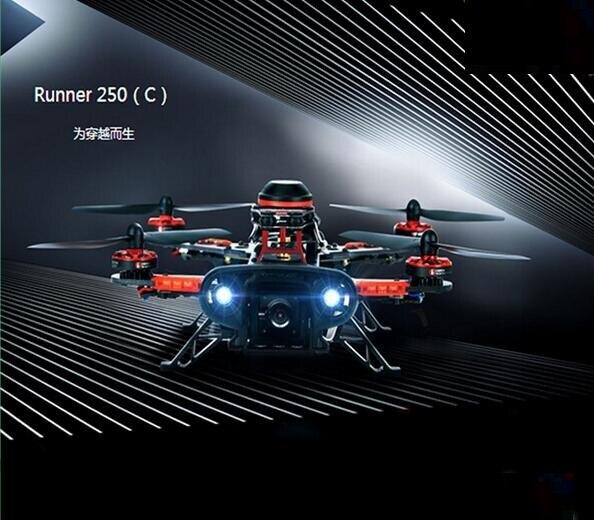 Walkera Runner 250C CC3D edición profesional FPV cuatro ejes aviones máquina de traversing Track Shipping