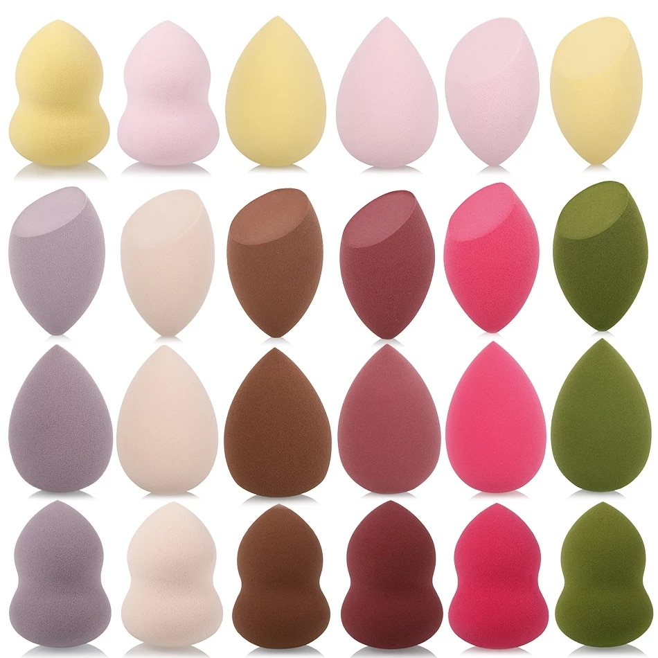 AliExpress - 1Pc Cosmetic Puff Powder Puff Smooth Women's Makeup Foundation Sponge Beauty To Make Up Tools & Accessories Water-drop Shape
