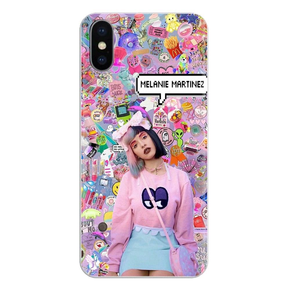 De silicona cubierta de la cáscara del teléfono para Samsung Galaxy J1 J2 J3 J4 J5 J6 J7 J8 Plus 2018 primer 2015 de 2016 de 2017 Melanie Martínez llorón