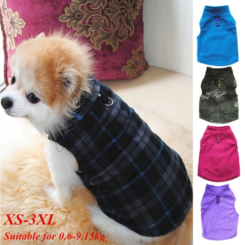 Cão de estimação roupas quentes para pequeno cão à prova de vento inverno pet casaco jaqueta acolchoado roupas filhote de cachorro roupa colete