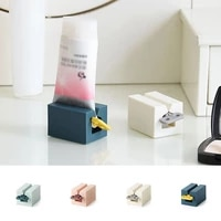 toothpaste squeezer tube easy dispenser clip on rolling holder plastic lazy toothpaste squeeze press device bathroom supplies