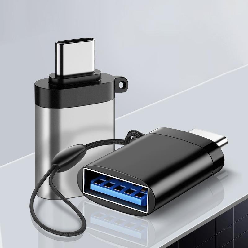 ANMONE-Adaptador USB C OTG rápido, adaptador USB 3,0 a tipo C para...