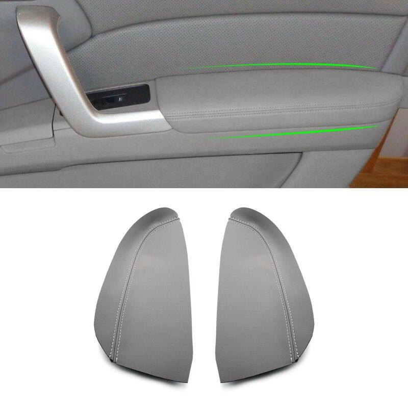 2 шт., автомобильные накладки на подлокотники из микрофибры, для Acura RDX 2007 2008 2009 2010 2011 2012