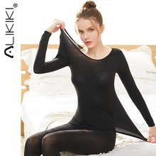 Long Johns Set For Women's Thermal Underwear Thermo Lingerie Second Skin Thermal Trousers Underwear
