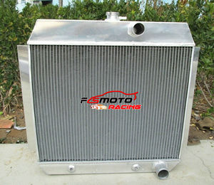 3 Row Racing 1951-1954 For 1952 1953 54 53 52 51 Chevy W/COOLER Aluminum Radiator