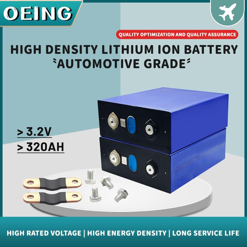 جديد 3.2 فولت 320Ah Lifepo4 بطارية الشبكة أ 48 فولت 320AH بطارية قابلة للشحن حزمة ل RV نظام تخزين الطاقة الشمسية الاتحاد الأوروبي الولايات المتحدة معفاة ...