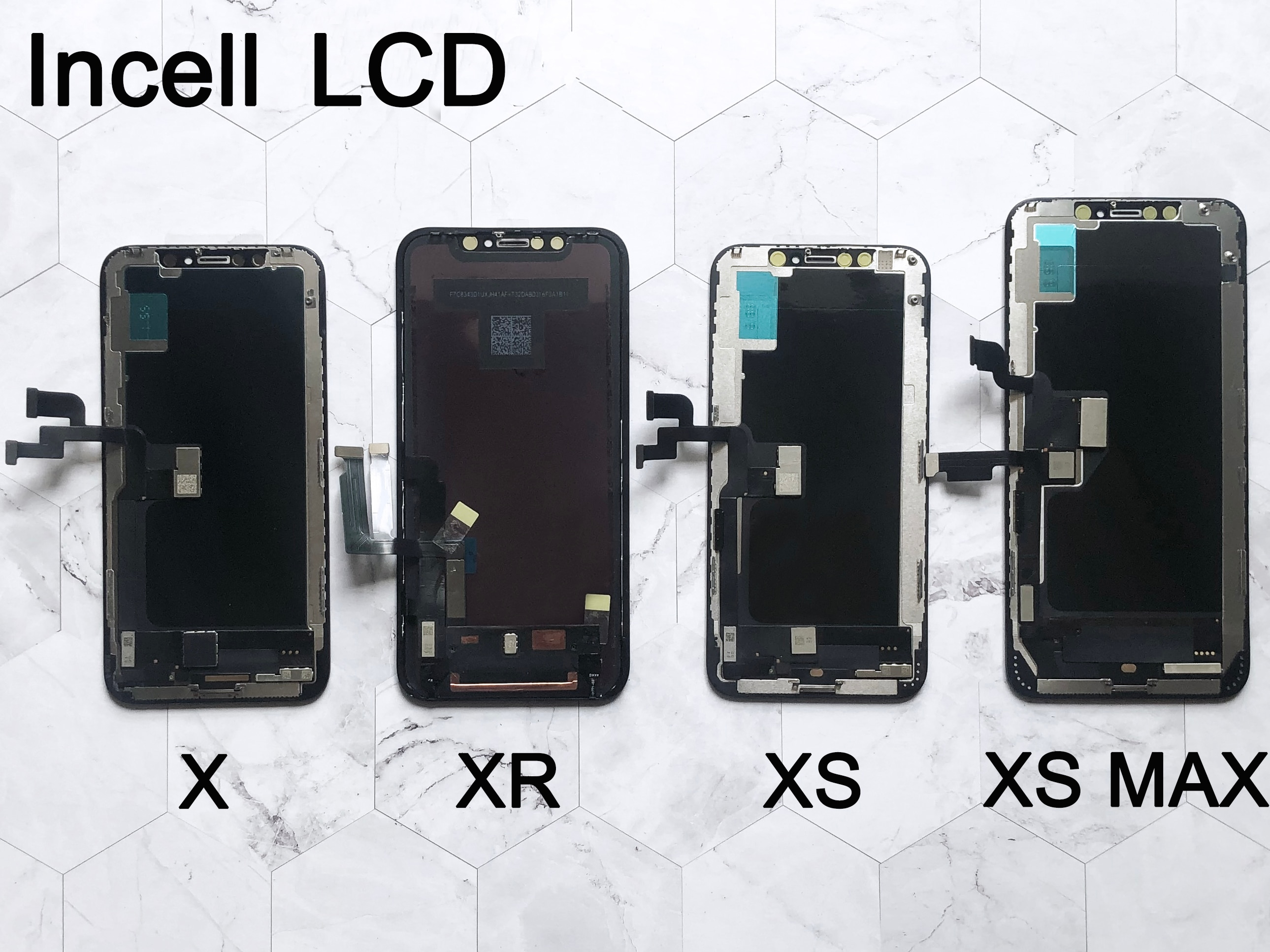 Tested LCD Pantalla For iphone X LCD XR 11 Screen INCELL LCD Display Touch Screen Digitizer Assembly For iPhone X XS Max OLED enlarge