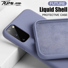 For Samsung A21S A51 A71 A31 A50 A70 A20 A30 A40 A10 Liquid Silicone Soft Case For Galaxy S20 Ultra