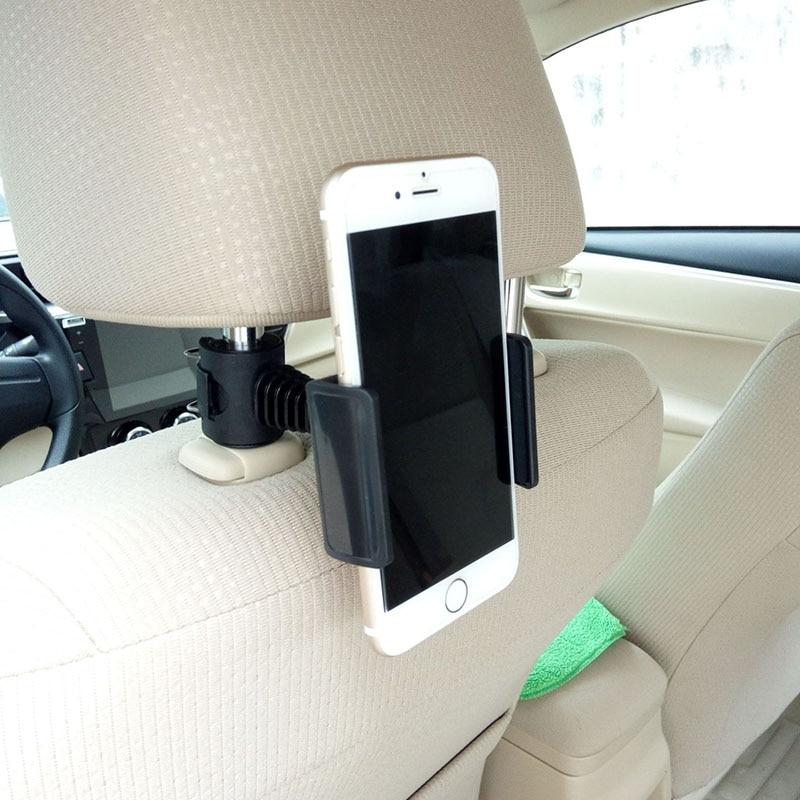 Mobile phone bracket seat headrest bracket Stand 360 degree rotation phone holder for Mobile Phone I