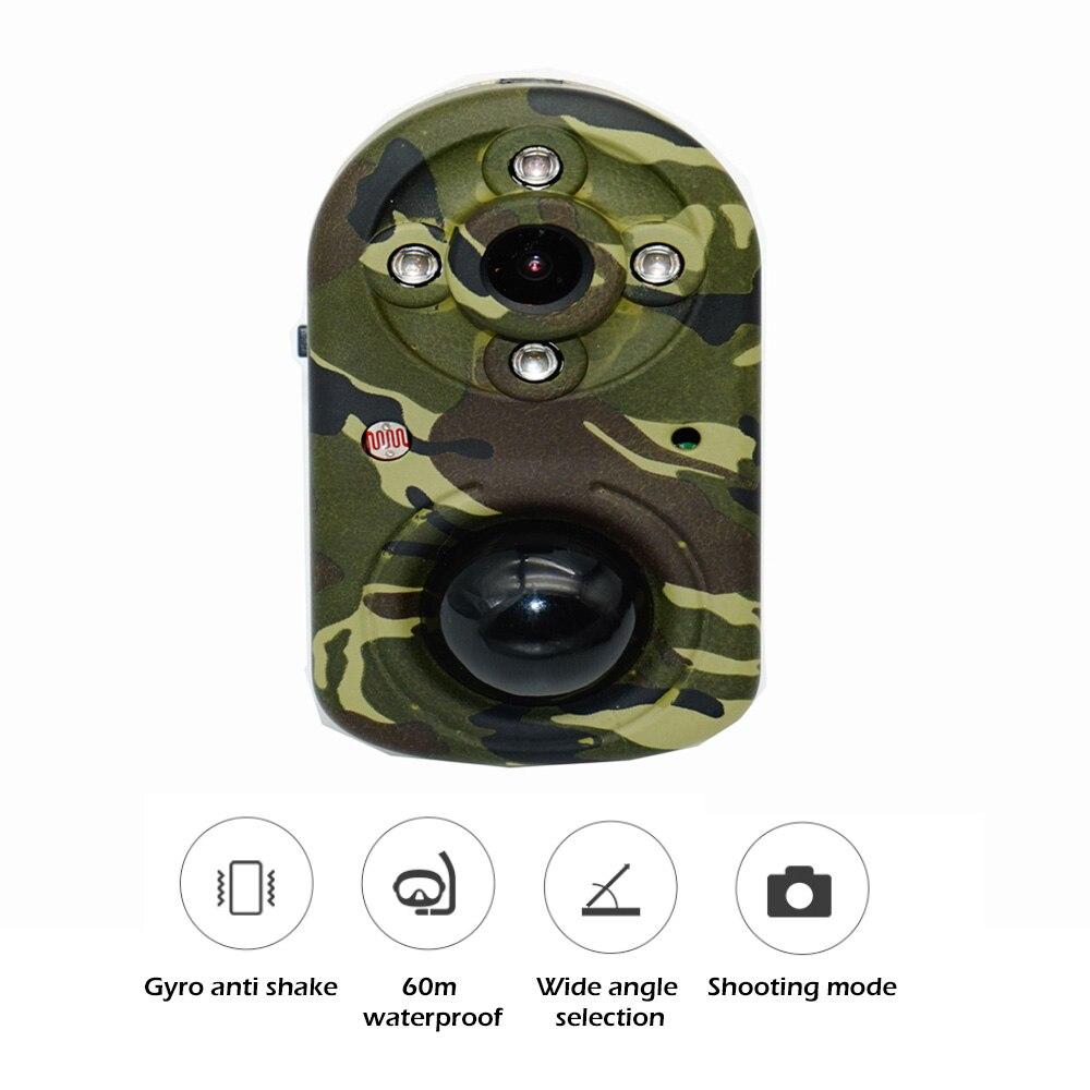 PIR680 движения Охота Камера дикой природы домашнего видеонаблюдения Мини дикий Камера с разрешением Full HD 1080P фото-краны видео Регистраторы