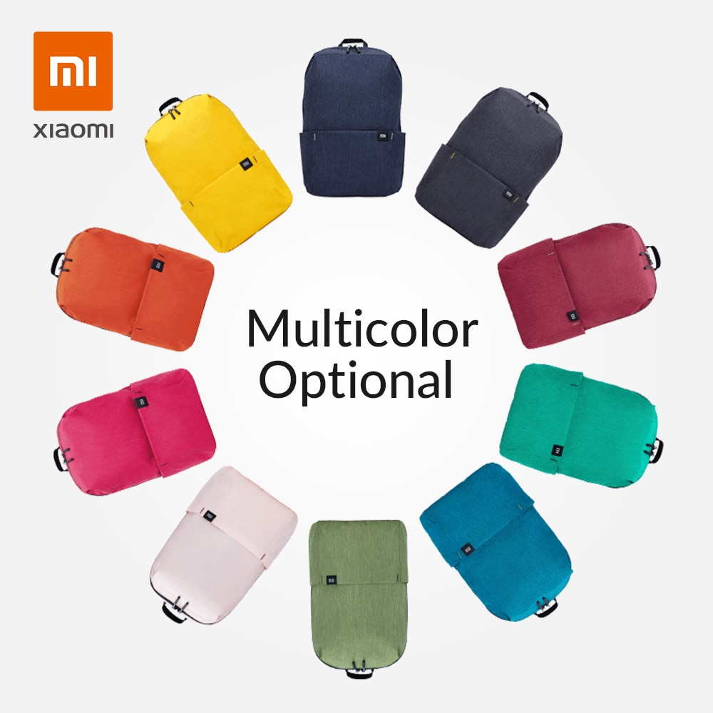 aliexpress - Xiaomi Mi Backpack Original 10/20L Urban Leisure Sports Chest Pack Bags Travel Backpack Large Capacity Unisex