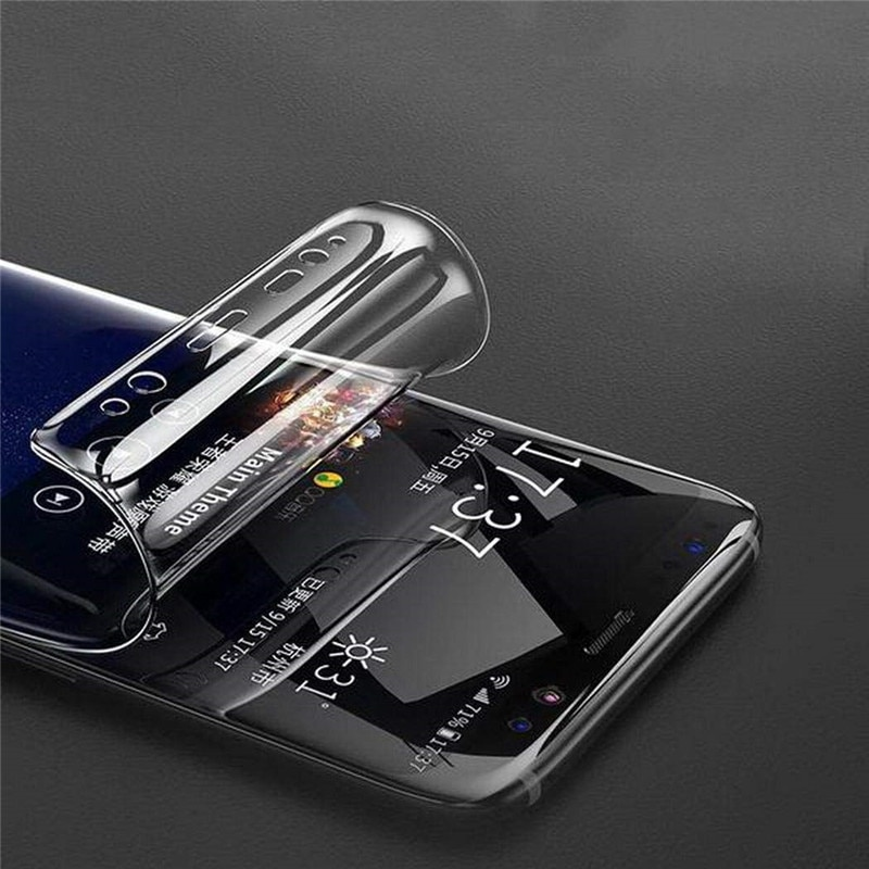 Hydrogel Film For Samsung Galaxy S8 S9 Plus Screen Protector For Samsung A70 A80 A90 M10 M20 M30 Soft Film Not Glass