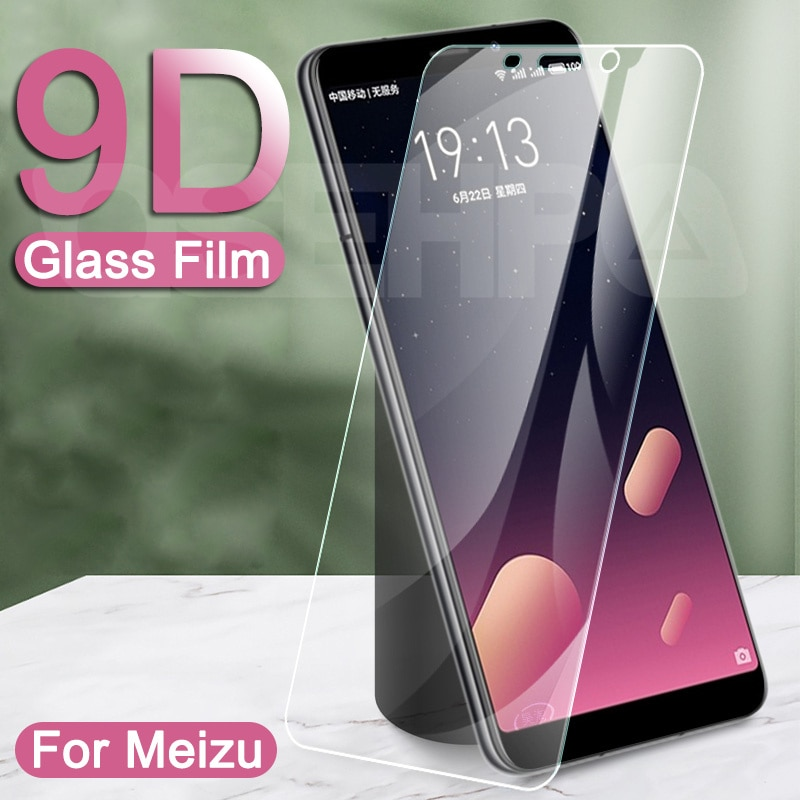 9D Protective Glass For Meizu C9 Pro M8 Lite M6 M5 Note 9 8 Tempered Screen Protector V8 X8 M8C M6S