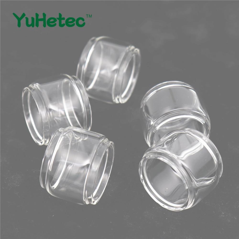5PCS Original YUHETEC Glass Tube for Vandy Vape KYLIN II V2 RTA 5ml Fatboy versionl/3ml Straight version Electronic cigarette недорого