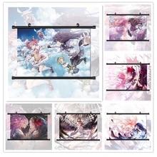 Puella Magi Madoka Magica Akemi Homura Ultime Kaname Madoka Anime Manga HD Imprimer Mur Affiche Défilement