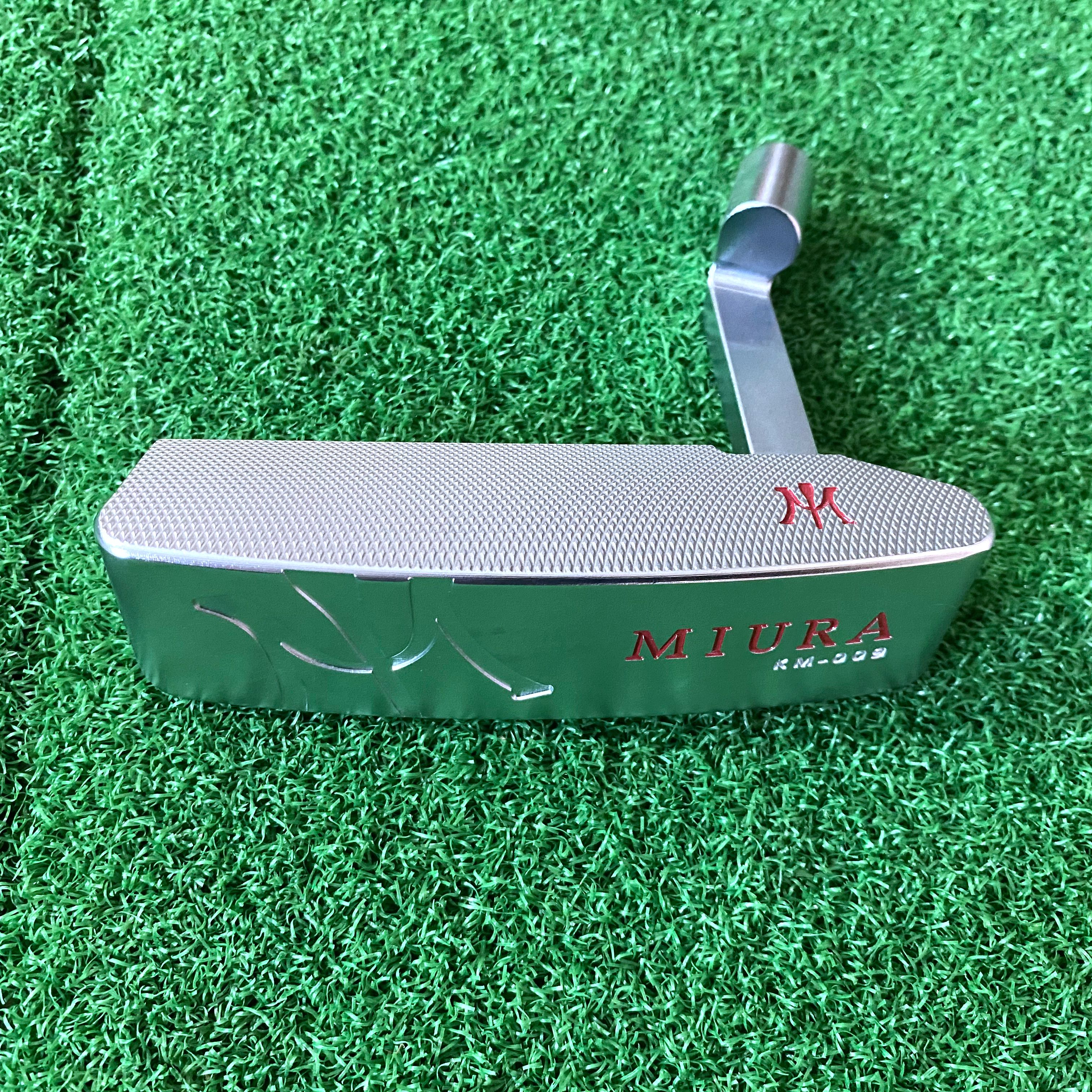 New Golf Clubs Putter Head Only No Shaft Miura Free Shipping Soft Iron Forged