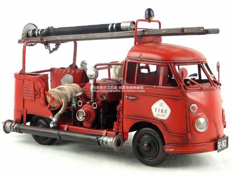 Folha de Solda Retro para Fazer Arranjos de Fogo Modelo de Caminhão para Antiquários Mão de Ferro Artesanato