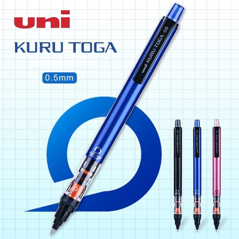 1 pçs uni kurutoga lápis mecânicos M5-452 recarga pode ser girado atividade lápis escritório escola desenho esboço suprimentos 0.5mm