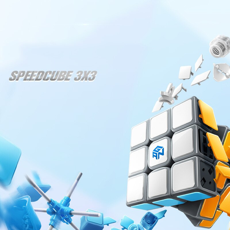 Origianl Gan RSC 3x3x3 cubos mágicos GAN rsc 3x3, cubos de rompecabezas GAN 3X3, cubos de velocidad gans 3x3x3, cubos GAN RSC 3x3