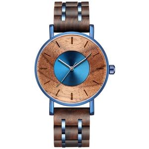 Top Brand Wooden Watch Men Wood Quartz Watches Luxury Military Sports Watch Waterproof Clock Male Business Relogio Masculino