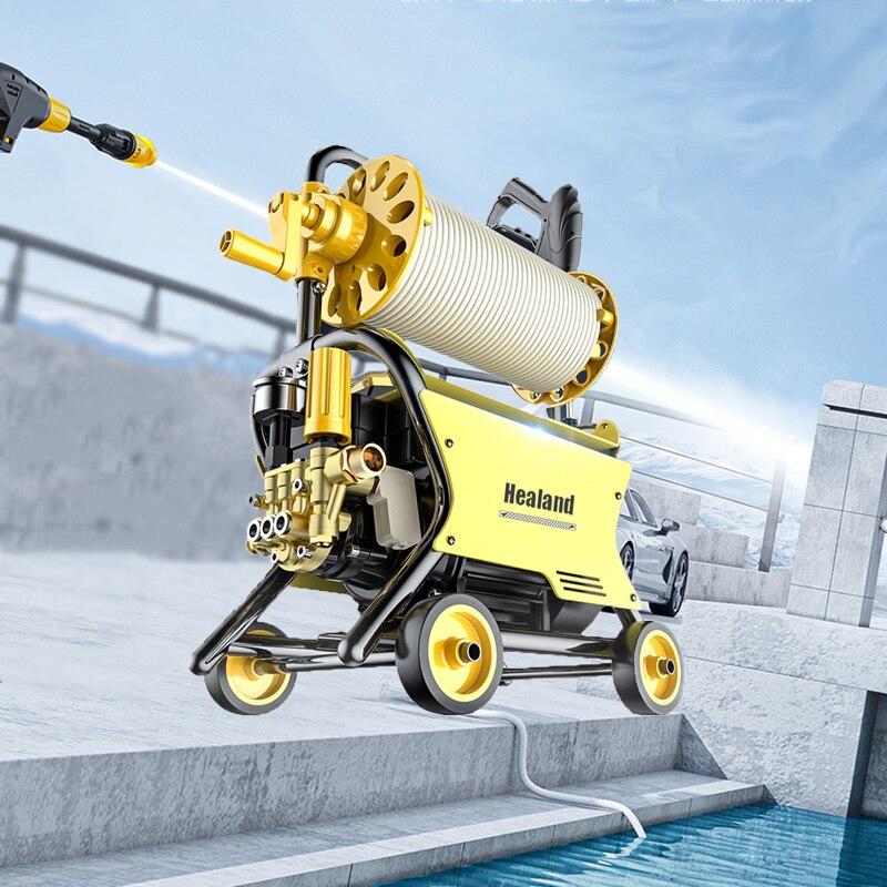 120Bar High Pressure Washing Machine Portable For Parkside Car Washer Cleaner Pump Foam Gun Auto Wash Tornado Foam Generator