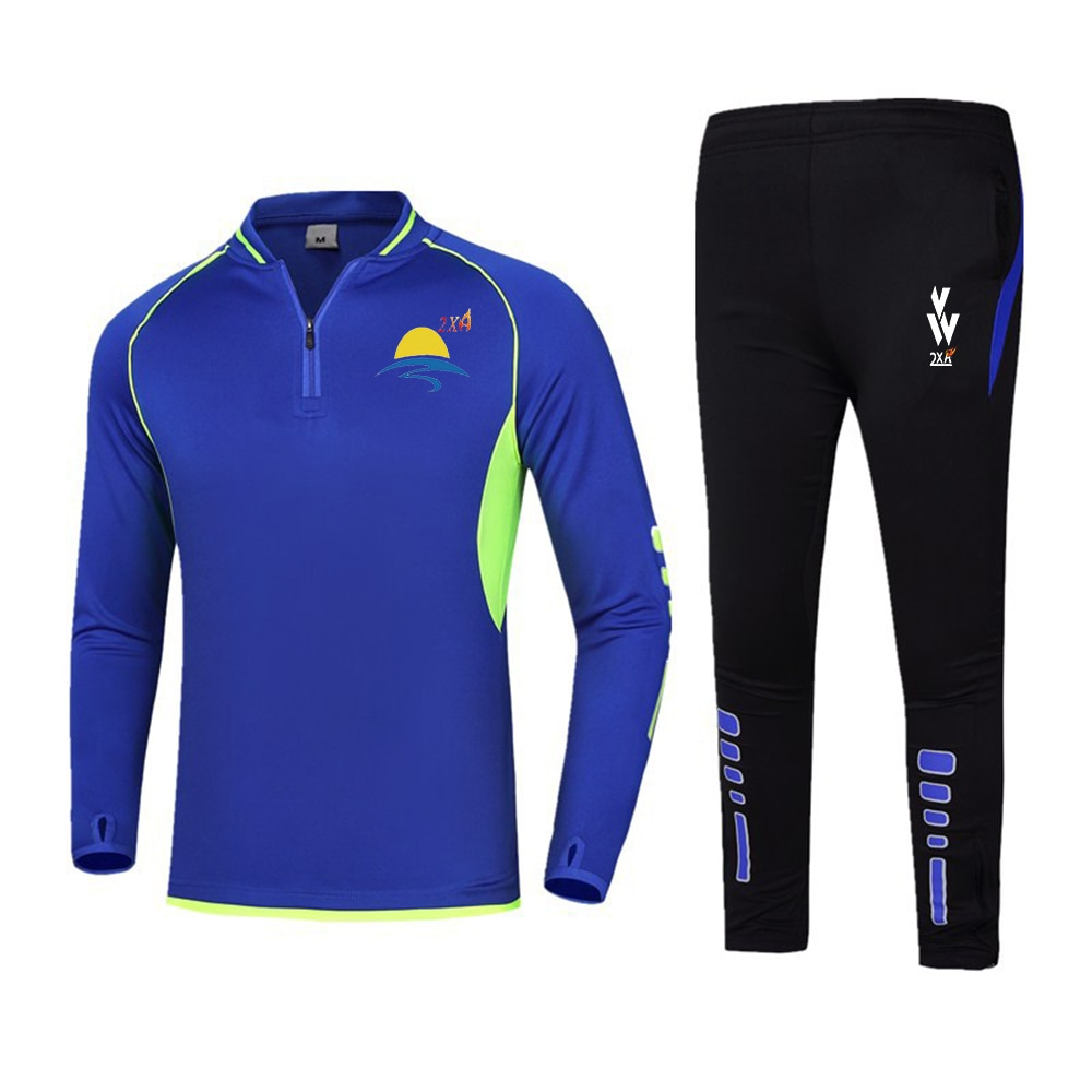 Новинка, 2 шт./компл., мужской спортивный костюм для тренажерного зала, фитнеса, компрессионного спорта