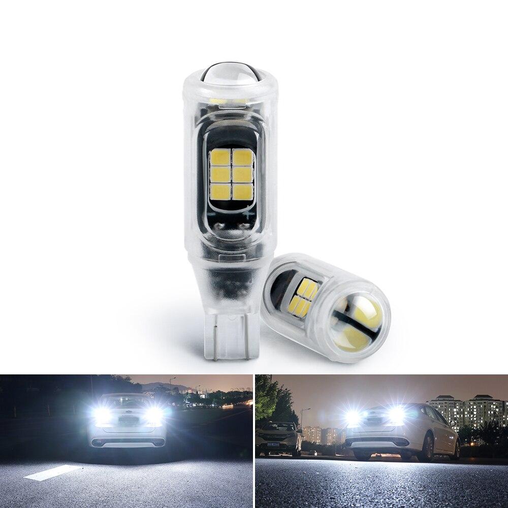 T15 W16W Автомобильные светодиодные лампы 3030 16SMD Авто резервная светильник s заднего фонаря указателя поворота Габаритные светильник супер ярк...